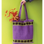 POLKA DOT FELTED BAG
