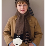 RACCOON SCARF