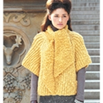 PULLOVER WITH SCARF