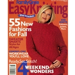 Family Circle Easy Knitting Fall 2001