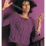 CABLED PULLOVER Vogue Knitting Fall 2005 #9