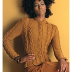 CABLED JACKET Vogue Knitting Fall 2005 #13