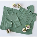 CABLED LAYETTE SET