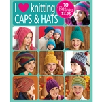 I Heart Knittng Caps & Hats