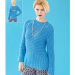 MULTIDIRECTIONAL RIB PULLOVER