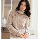 RIBBON TRIM PULLOVER