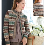 ALL-OVER CABLE CARDIGAN