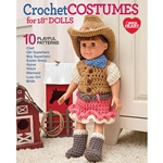 "Crochet Costumes for 18"" Dolls"