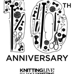 Knitting LIVE! 10th Anniversary Tote