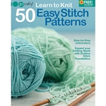 Learn to Knit with 50 Easy Pattern Stitches