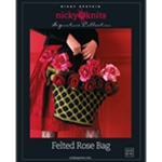 FELTED ROSE BAG