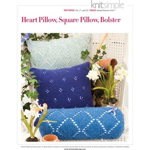 HEART PILLOW, SQUARE PILLOW, BOLSTER
