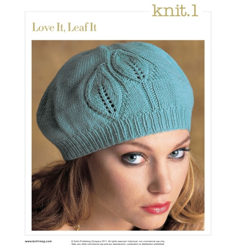 LOVE IT, LEAF IT BERET
