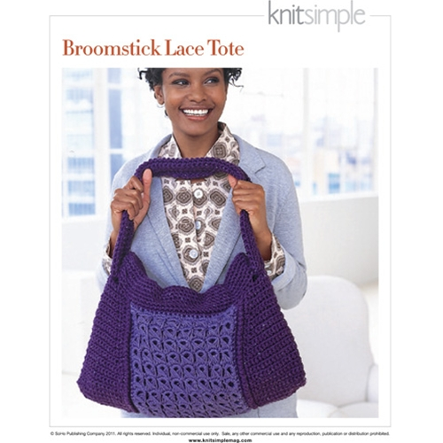 BROOMSTICK LACE TOTE