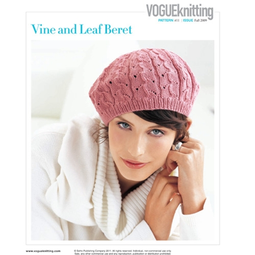 VINE AND LEAF BERET