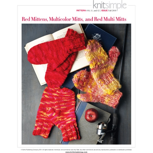 RED MITTENS, MULTICOLOR MITTS & RED MULTI MITTS