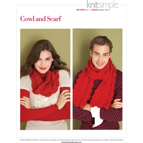 COWL AND SCARF
