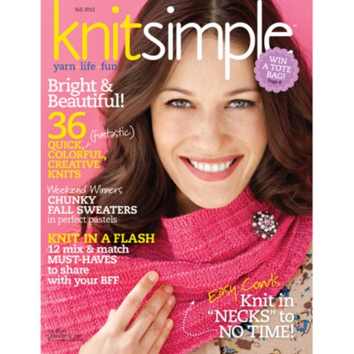 Knit Simple 2012 Fall