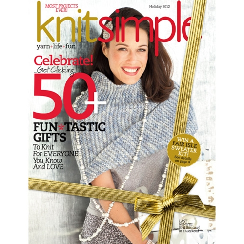 Knit Simple 2012 Holiday
