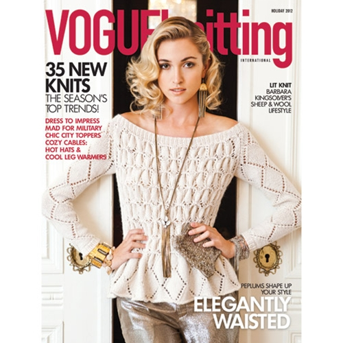 Vogue Knitting 2012 Holiday