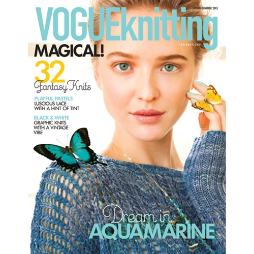 Vogue Knitting 2013 Spring/Summer