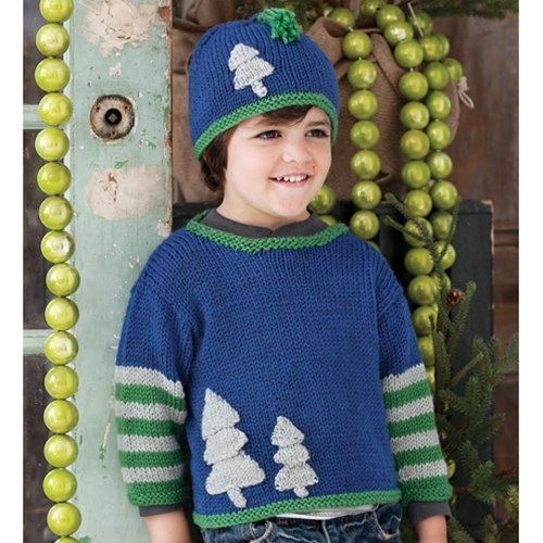TREE HAT AND TREE PULLOVER