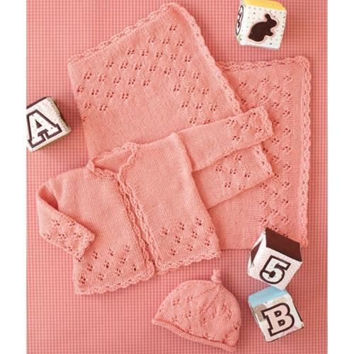 LACE LAYETTE SET