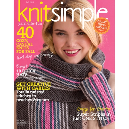 Knit Simple 2013 Fall