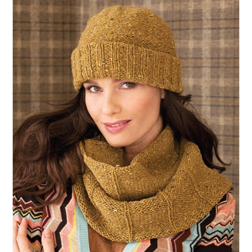 RIBBED HAT & RIBBED COWL