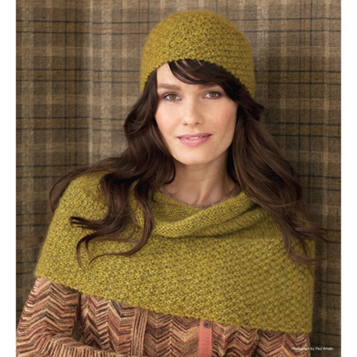 DOUBLE SEED HAT & COWL
