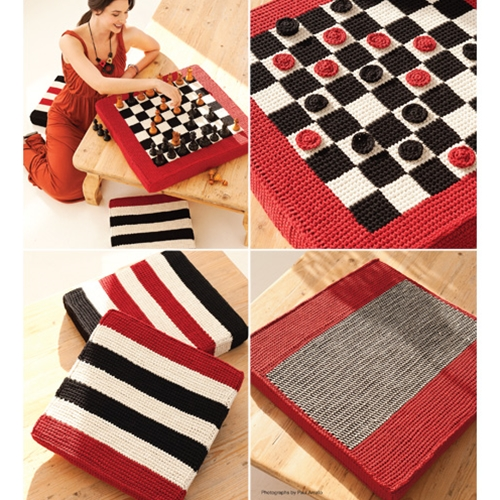 CHECKERBOARD AND FLOOR CUSHIONS