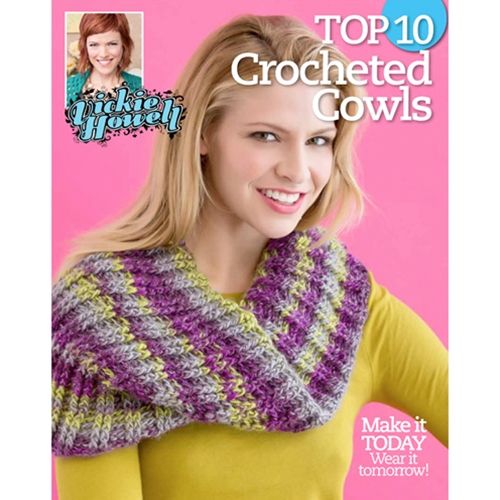 Vickie Howell's Top 10 Crocheted Cowls