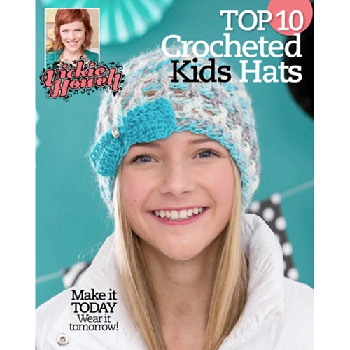 Vickie Howell's Top 10 Crocheted Kids Hats