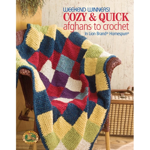Weekend Winners! Cozy & Quick Afghans to Crochet in Lion Brand Homespun