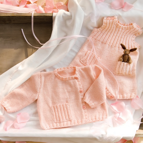 BABY DRESS, BABY SUNSUIT, BABY CARDIGAN