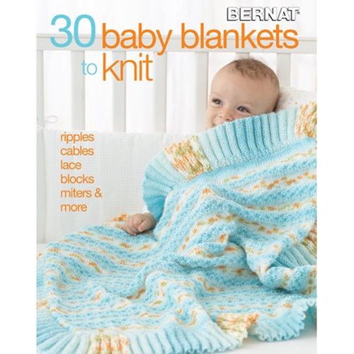 30 Baby Blankets to Knit