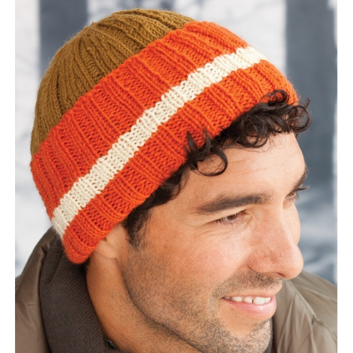 MAN'S RIBBED HAT