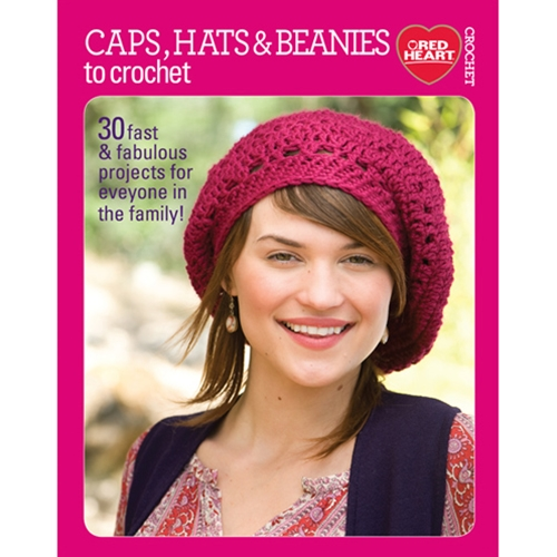 Caps, Hats & Beanies to Crochet
