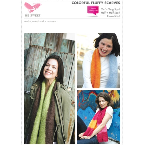 COLORFUL FLUFFY SCARVES