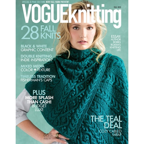 Vogue Knitting 2015 Fall