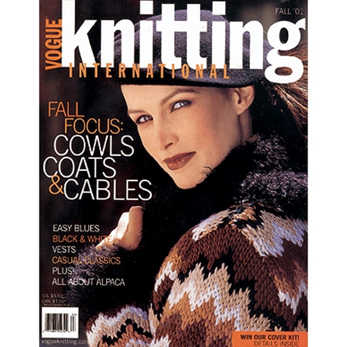 Vogue Knitting 2001 Fall