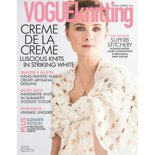 Vogue Knitting 2016 Spring/Summer