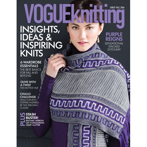 Vogue Knitting 2016 Early Fall