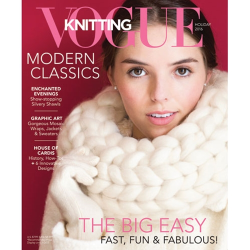 Vogue Knitting 2016 Holiday