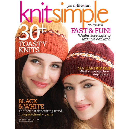 Knit Simple Winter 2016