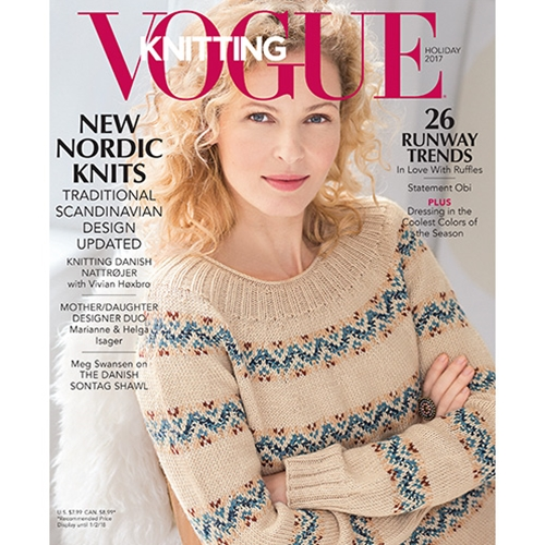 Vogue Knitting 2017 Holiday