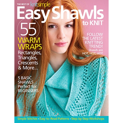 Best of Knit Simple Easy Shawls to Knit