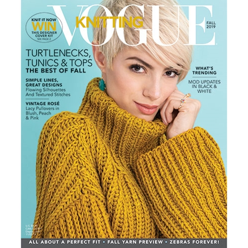 Vogue Knitting Fall 2019