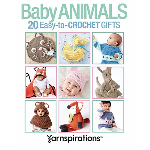 Baby Animals: 20 Easy-to-Crochet Gifts
