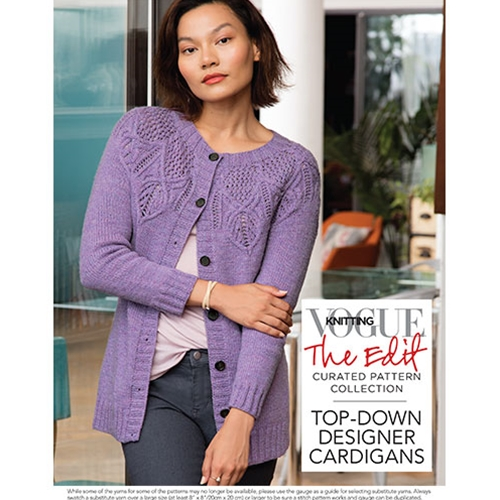 TOP-DOWN DESIGNER CARDIGANS